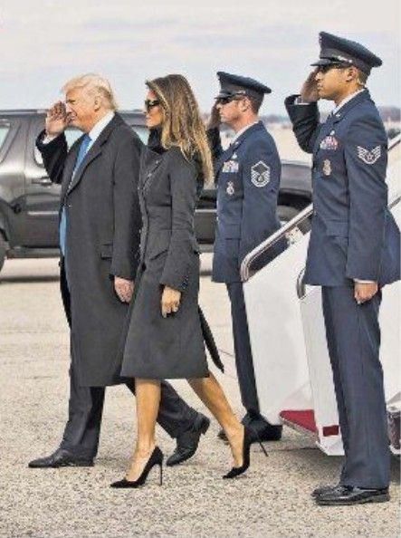 Wonderful photo of President Donald Trump and First Lady Melania ❤️