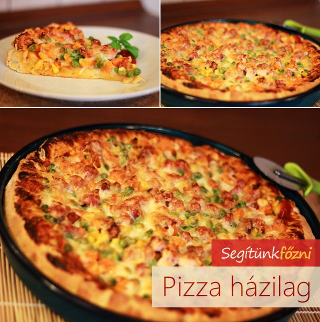 Pizza videó recept