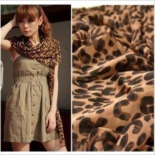 2013 New South Korean winter Chiffon Scarf Shawl U type super female long Leopard Print Scarf $3.29