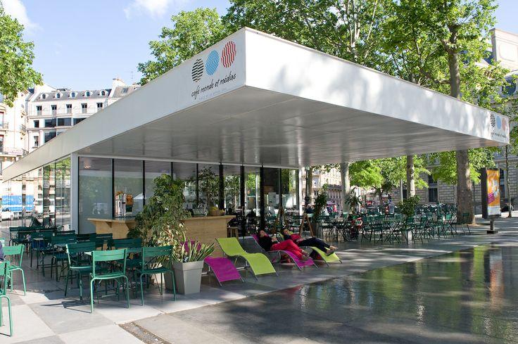 Les 18 meilleures images propos de top des terrasses sur for Restaurant paris terrasse jardin