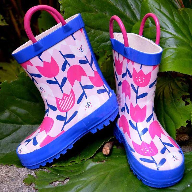 Jan & Jul Rain Boot - Tulip https://pumpkinpiekids.com/collections/rain-snow-footwear/products/jan-jul-rain-boot-tulip