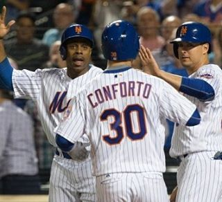 The Mets (82-72) defeated the Philadelphia Phillies (69-85) by a score of 10-5 tonight at Citi Field. It was good to see Michael Comforto hit a home run hopefully he can get things going. Keep Bruce on the bench. Cardinals lost today.  #metsgame #mets #metsnation #metsnews #news #mlb #philadelphia #phillies #philly #tonight #win #citifield #michaelconforto #homerun #jaybruce #jaybrucesucks #bench #lgm #lgm#cardinals#baseball #sports#30 #good #lost#team#beisbol#wildcard