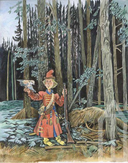 Illustration Эскиз иллюстрации к Поди туда по Успенскому-1