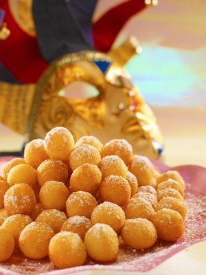Castagnole de carnaval  Un dulce típico italiano que te conquistará.  La receta: http://www.mujeresreales.es/cocina/postres/articulo/castagnole-de-carnaval-131454404515