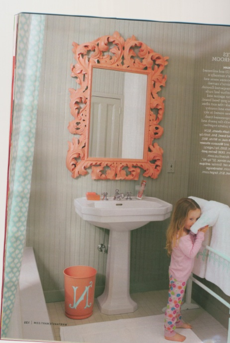 fabulous retro pink bathroom | Retro BLUE and Pink Bathroom needs help! - Young House ...