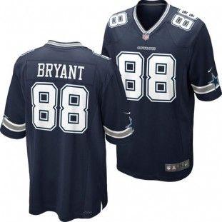 99edb1b9a ... dallas cowboys dez bryant 88 replica game jersey navy . ...