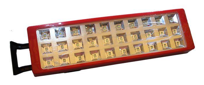 512944 LUMINARIA EMERGENCIA RECARREGAVEL 30LEDS IDEA 8016