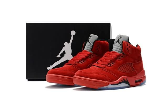 premium selection 8cca4 ce997 Cheap Air Jordan 5 Retro 2018 Kid shoes #Red #Gray #Kid ...