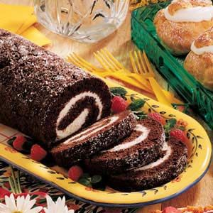 Chocolate Zucchini Roll--Tried, Tested & True. This has been one of my favorites for years.