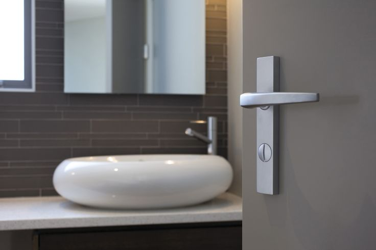 Chant lever with privacy #architecture #design #hardware