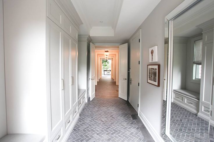 beautiful gorgeous luxury hallway custom built by PCM Inc at the 2014 #PrincessMargaret Oakville Showhome