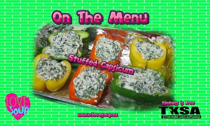#StuffedBellPeppers Who has a great recipe they can share? what would you suggest we put in them, with thanks to Countdown we are able to make some exciting and colourful Hearty Healthy meals... #LoveSoup #ExcitingandNEw come aboard we're expecting you