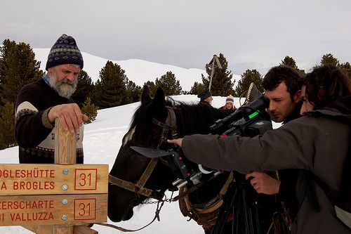 making of - Racines a Ortisei
