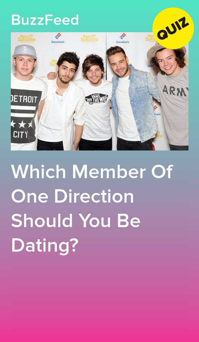 Which one direction member are you dating someone