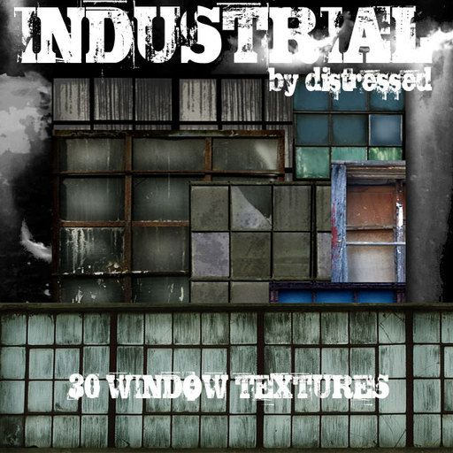[D] Industrial Window Textures