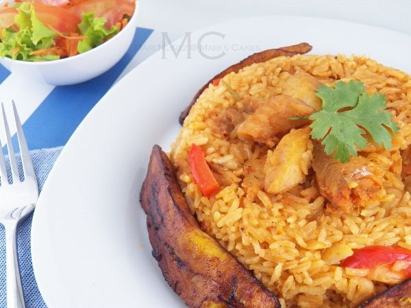 Rice with Cod Fish/ Arroz con Bacalao | Mari's Cakes (English)