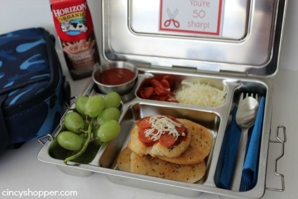 Pizza Bento Lunchbox Recipe   FREE Lunchbox Notes Printable