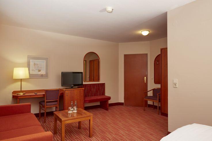 Sitzecke Superior Doppelzimmer im H+ Hotel Mannheim