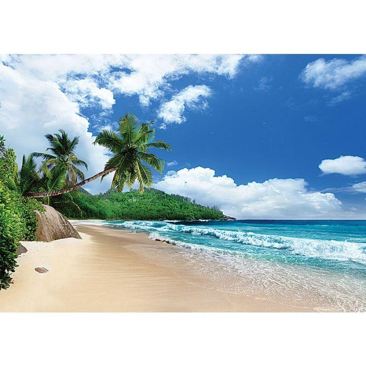Decoretto Фотообои Побережье острова Маэ, Сейшельские острова, 360x254
