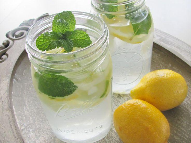 Martha Stewart's Mint Lemonade