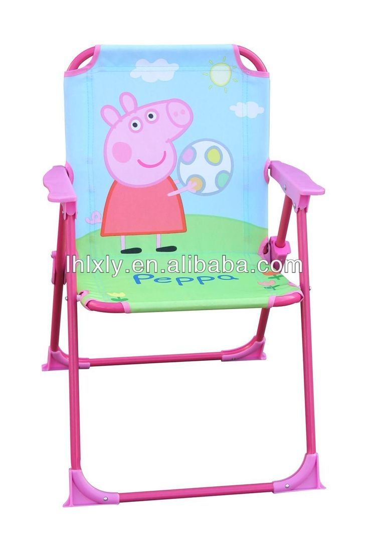 Childrens rocking camp chairs - Peppa Pig Folding Camping Chair