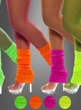 80er Jahre ohne Neon Beinstulpen? Undenkbar! Coole Accessoires für Mottoparty Kostüme...