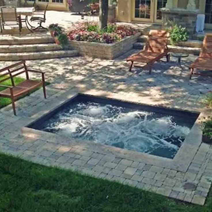 Select pools backyard escapes gallery landscaping for Garden plunge pool uk