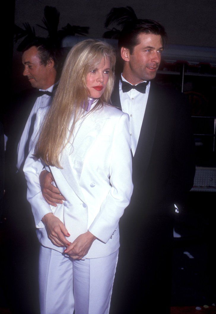 Pin for Later: Flashback to When These Famous Couples Went Public For the First Time Kim Basinger and Alec Baldwin in 1990