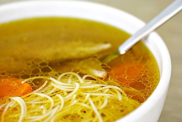 Recept na Drůbková polévka