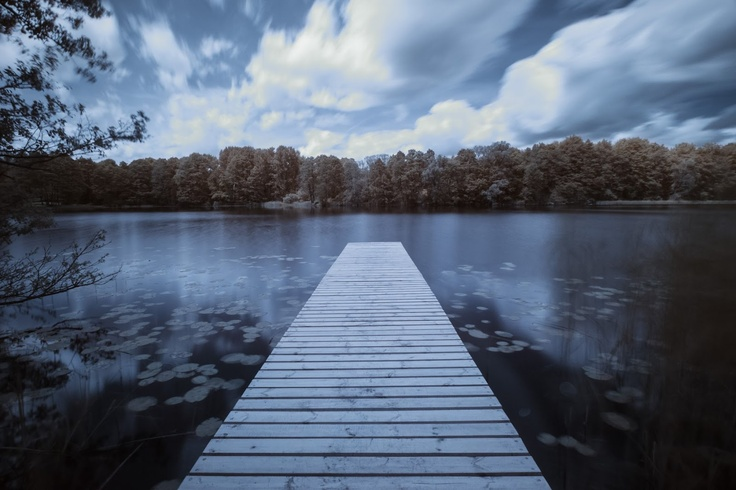 Jetty in infrared