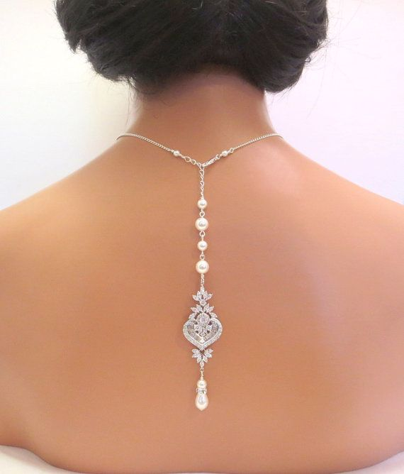 Hey, I found this really awesome Etsy listing at https://www.etsy.com/listing/186397853/bridal-backdrop-necklace-wedding-back