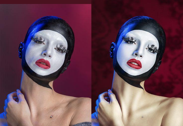 Photo: Luca Morfino Hair: Manuel Nani MakeUp: Omar Turrini Model: Ariadna Retouch: Olga Tkachenko