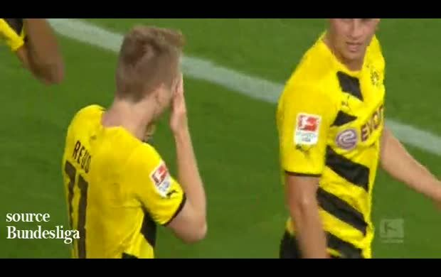 Augsburg 2-3 Borussia Dortmund: All goals and Match highlights