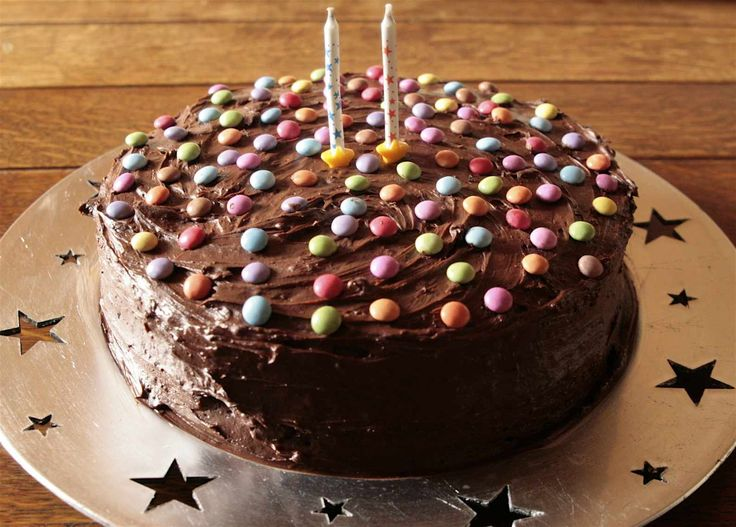 How to make a easy chocolate birthday cake