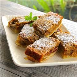 Mango Squares. (I love dried mangoes [and brown sugar, of course] so this recipe sounds amazing.) - Cindy