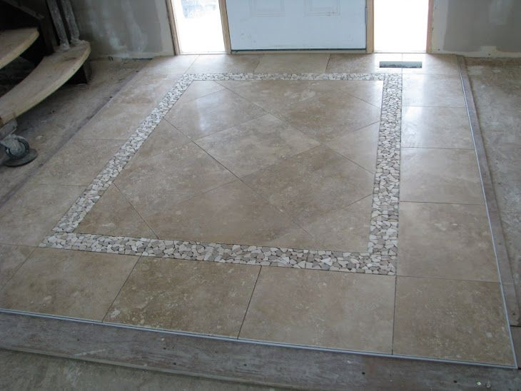 20 best images about entry tile patterns on pinterest for Entrance foyer tiles