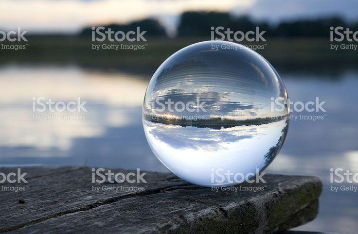 Натюрморт Стеклянный шар Стоковые фото Стоковая фотография