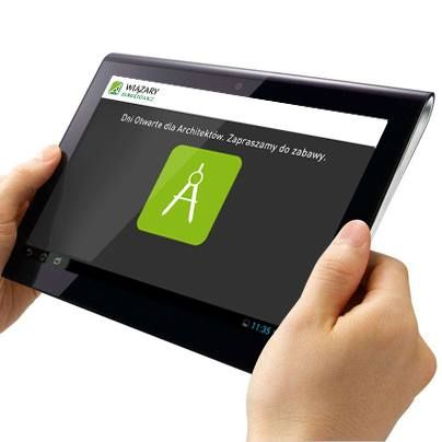 Aplikacja na tablet z zabawą dla Architektów. #mobile_application #mobile_app_design #android #iOs #ios_app #ios_app_design