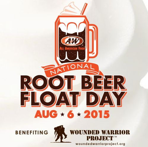 Free Root Beer Float at A&W on August 6, 2015  Stop by any A&W Restaurant from 2 p.m. to close on August 6, 2015 to get a free small Root Beer Float.
