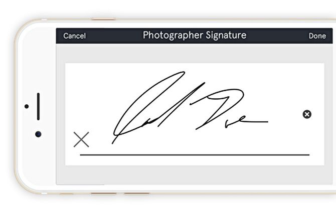 Ditch Paper:  Create and Sign Model Release Forms with Snapwire's Free Mobile App