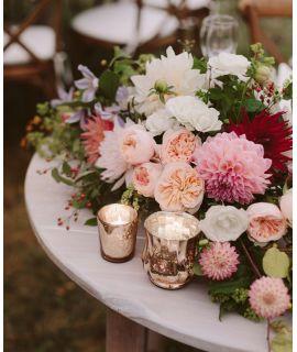 Centros de mesa con espuma floral