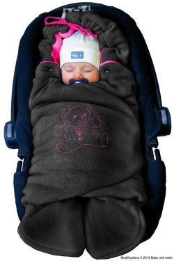 Babyschalen-Einschlagdecke