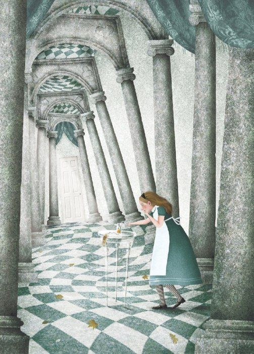 Alice in Wonderland by Iban Barrenetxea [©2011]
