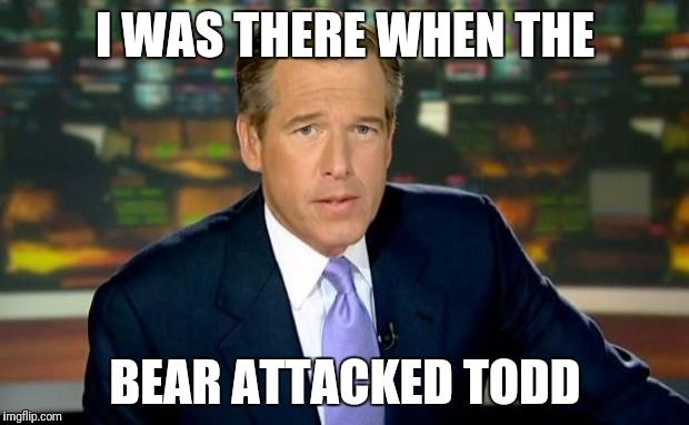 Brian Williams Was There