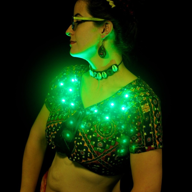 Ooo La La, Add Lil' LEDs To Your Clothes DIY Style: Http