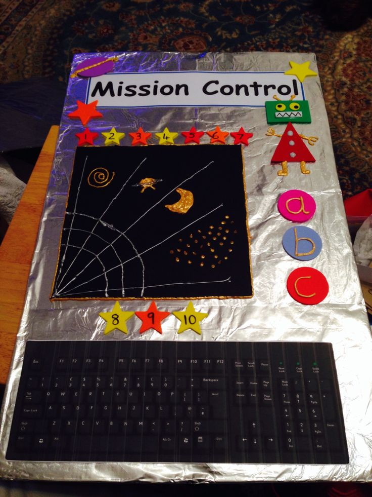 Space Station Role Play Drama Play Center Pinterest
