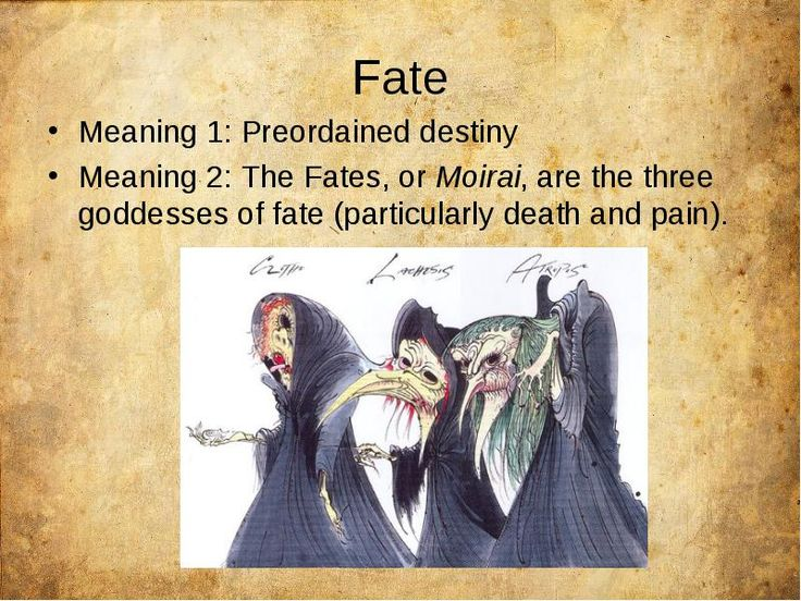 the fates of greek mythology essay Speaking of concepts of fate among the ancient greeks, buddhists, hebrews   belief in god or ''god's will,'' grace, or providence in this essay.