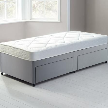 Fogarty Little Sleepers Open Coil Platform Top Divan Set with 2 Drawers