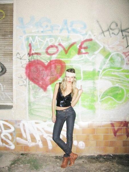 Gillian Zinser aka Ivy Sullivan  Love