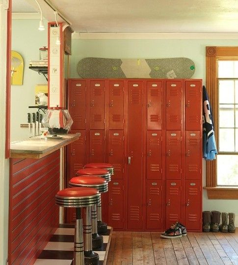 lockers!